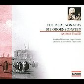 Vivaldi: The Oboe Sonatas / Burkhard Glaetzner
