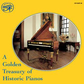 A Golden Treasury of Historic Pianos