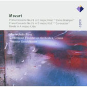Mozart: Piano Concertos No. 21 & 26; Rondo in A major