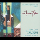 Echomythia: Modern music for solo guitar / Dimitris Kotronakis, guitar