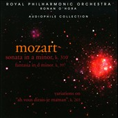 Mozart: Sonata in A Minor, K. 310; Sonata in C Major, K. 545; Variations on
