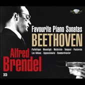 Beethoven: Favourite Piano Sonatas / Alfred Brendel