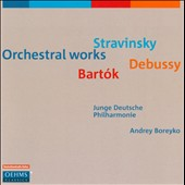 Bartok: Miraculous Manarin; Stravinsky: Le chant du rossignol; Debussy