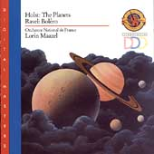 Holst: The Planets; Ravel: Bolero / Lorin Maazel