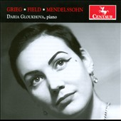 Piano works of Grieg, Field & Mendelssohn / Daria Gloukhova, piano