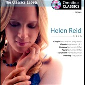Pianist Helen Reid plays Chopin, Debussy, Faure and Schumann