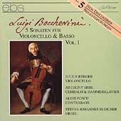 Boccherini: Cello Sonatas / Julius Berger