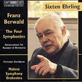 Berwald: The Four Symphonies, etc / Ehrling, Malmö SO