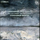 Stenhammar: String Quartets Vol. 1: No. 3 in F major, No. 4 in A minor / Stenhammar Quartet