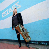 Zigzags - music for tuba, euphonium and electronics / Joanna Ross Hersey, tuba
