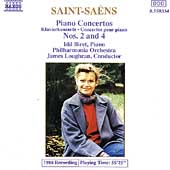 Saint-Saens: Piano Concertos no 2 & 4 / Biret, Loughran