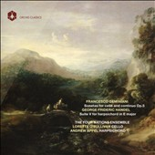 Geminiani: Sonatas for Cello & Continuo, Op. 5; G.F. Handel: Harpsichord Suite No. 5 / The Four Nations Ensemble