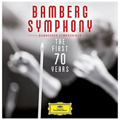 Bamberg Symphony: The First 70 Years - music of Mendelssohn, Weber, Mahler, Beethoven, R. Strauss, Bruckner, Brahms, Wagner, Mozart [17 CDs]