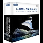 Suomi-Finland 100: A Century of Finnish Classics - orchestral, vocal & choral works composed from 1917 to the present by Kajanus, Madetoja, Melartin, Pingoud, Raitio, Klami, Sibelius, Merikanto, Aaltoila, Englund, Nordgren et al.