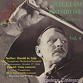 Legendary Treasures - William Primrose Vol 4 - Berlioz, etc