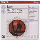 Bizet: Les P&#234;cheurs de Perles / Fournet, Simoneau, Alarie