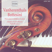 Vanherenthals, Bottesini: Pieces for Double Bass and Piano