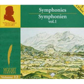 Mozart Edition Vol 12 - Symphonies Vol 1