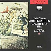 Jules Verne (Author): 20,000 Leagues Under the Sea [Naxos]