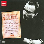 Icon - Arturo Benedetti Michelangeli - The Master Pianist Plays Beethoven, Mozart, Haydn, etc