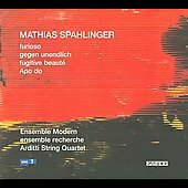 Spahlinger: Furioso, etc / Ensemble Modern, Arditti String Quartet, et al