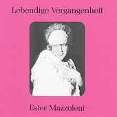 Lebendige Vergangenheit - Ester Mazzoleni