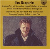 Ture Rangström: Symphony No. 1 'August Strindberg in memoriam'; Symphony No. 3 'Song under the Stars'