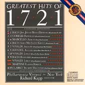 Greatest Hits of 1721 / Richard Kapp, Philharmonia Virtuosi