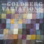 J.S. Bach: Goldberg Variations arr. for string trio by Dmitry Sitkovetsky / Leopold String Trio