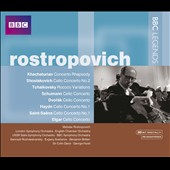 BBC Legends: Mstislav Rostropovich Box Set [3 CDs]