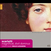 Alessandro Scarlatti: Magnificat; Dixit Dominus / Alessandrini