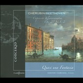 Quasi una Fantasia: Beethoven: Sonatas Op. 27/1&2; Cherubini: Caprice / Davide Cabassi, piano
