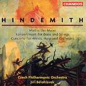 Hindemith: Mathis der Maler, etc / Belohl&aacute;vek, Czech PO