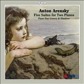 Anton Arensky: Five Suites for Two Pianos / Piano Duo Genova & Dimitrov