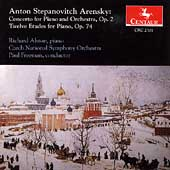 Arensky: Piano Concerto, Twelve Etudes / Alston, Freeman