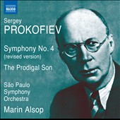 Prokofiev: Symphony No. 4 (revised vers.), Op. 112; The Prodigal Son, Op. 46 / Marin Alsop
