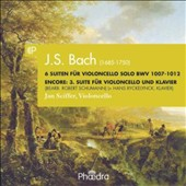 J.S. Bach: Suite for solo cello, BWV 1007 - 1012; Suites (3) for cello and piano / Jan Sciffer: cello; Han Ryckelynck: piano
