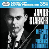 János Starker: The Mercury Living Presence Recordings - Music of Bach, Vivaldi, Corelli, Locatelli, Debussy, Chopin, Brahms et al.