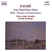 Faur&eacute;: Four Hand Piano Music / Volondat, De Hooghe