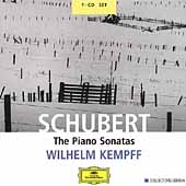 Schubert: The Piano Sonatas / Wilhelm Kempff