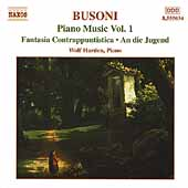 Busoni: Piano Music Vol 1 / Wolf Harden