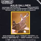 Sallinen: Variations for Orchestra, Violin Concerto, etc