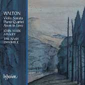Walton: Violin Sonata, Piano Quartet, etc / Ainsley, et al