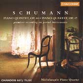 Schumann: Piano Quartet, Piano Quintet /Michelangelo Quartet