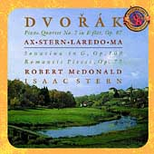 Expanded Edition - Dvorak: Piano Quartet, etc / Ma, et al