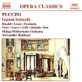 Puccini: Gianni Schicchi / Rahbari, Rinaldi, Lisnic, et al