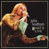 Julia Fordham: That's Live *