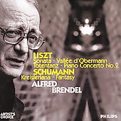 Liszt: Vall&#233;e d'Obermann, etc;  Schumann / Brendel