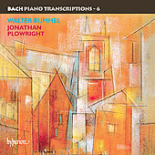 Bach Piano Transcriptions Vol 6 / Jonathan Plowright