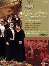 New Year's Concert 2007 from the Teatro la Fenice / Ono, Theodossiou, Filianoti, Frontali [DVD]
